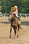 24 Jul 10: Rachel Alexandra, Calvin Borel up, wins the Lady's Secret Stakes.