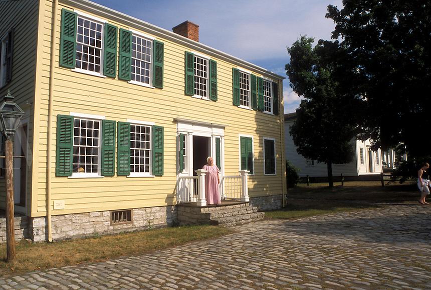 NY, New York, Mumford, Hosmer's Inn at Genesee Country Village & Museum