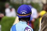 Rosie Napravnik at Keeneland Race Course. Lexington, KY. 04.08.2011