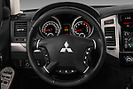 Car pictures of steering wheel view of a 2016 Mitsubishi Pajero Instyle 5 Door Suv Steering Wheel
