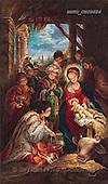 Sue Allison, HOLY FAMILIES, paintings, BRTOCH08684,#XR# Weihnachten, Navidad, illustrations, pinturas