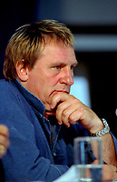 Montreal (Qc) CANADA -,August 30.1999 File Photo-<br /> <br /> Gerard Depardieu<br /> <br /> at 1999 World Film Festival -Photo (c) Pierre Roussel - Images Distribution