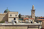 View of Jerusalem From Austrian Hospice of the Holy Family