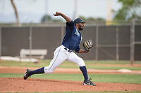 Seattle Mariners starting pitcher Reggie McClain (61) during a Minor League Spring Training game against the San Diego Padres at Peoria Sports Complex on March 24, 2018 in Peoria, Arizona. (Zachary Lucy/Four Seam Images)