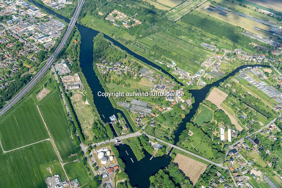 Schleuseninsel: EUROPA, DEUTSCHLAND, HAMBURG, BERGEDORF (EUROPE, GERMANY), 28.05.2020 Schleuseninsel