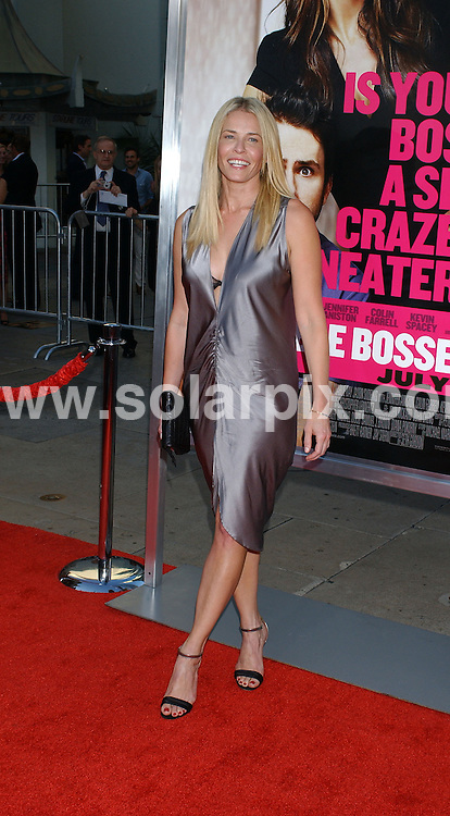**ALL ROUND PICTURES FROM SOLARPIX.COM**                                 **WORLDWIDE SYNDICATION RIGHTS EXCEPT FOR USA & CANADA - NO PUBLICATION IN USA & CANADA**                   Caption: arrivals at the premiere of the film, HORRIBLE BOSSES  at the Graumans Chinese Theater in Hollywood, Los Angeles, USA. June 30, 2011                                                                                    This pic: Chelsea Handler                                                                                JOB REF: 13650 GLS       DATE: 30_06_2011                                                            **MUST CREDIT SOLARPIX.COM OR DOUBLE FEE WILL BE CHARGED**                                                                        **MUST NOTIFY SOLARPIX OF ONLINE USAGE**                 **CALL US ON: +34 952 811 768 or LOW RATE FROM UK 0844 617 7637**