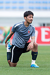 Urawa Reds Midfielder Abe Yuki during the training session prior to the AFC Champions League 2017 Round of 16 match between Jeju United FC (KOR) and Urawa Red Diamonds (JPN) at the Jeju Sports Complex on 23 May 2017 in Jeju, South Korea. Photo by Yu Chun Christopher Wong / Power Sport Images
