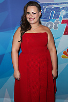 HOLLYWOOD, LOS ANGELES, CA, USA - AUGUST 15: Yoli Mayor arrives at NBC's 'America's Got Talent' Season 12 Live Show held at Dolby Theatre on August 15, 2017 in Hollywood, Los Angeles, California, United States. (Photo by Xavier Collin/Celebrity Monitor)