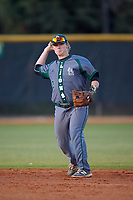 Saint Leo Lions second baseman Zach Gary (2) during a game against the Northwestern Wildcats on March 4, 2016 at North Charlotte Regional Park in Port Charlotte, Florida.  Saint Leo defeated Northwestern 5-3.  (Mike Janes/Four Seam Images)