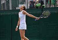 6th July 2021, Wimbledon, SW London, England; 2021 Wimbledon Championships  day 8;  Karolina Pliskova , CZE