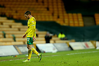 2nd January 2021; Carrow Road, Norwich, Norfolk, England, English Football League Championship Football, Norwich versus Barnsley; Emi Buendia of Norwich City walks off the pitch after being substituted