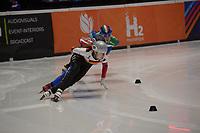 SPEEDSKATING: DORDRECHT: 05-03-2021, ISU World Short Track Speedskating Championships, Heats 1000m Ladies, Gina Jacobs (GER), ©photo Martin de Jong