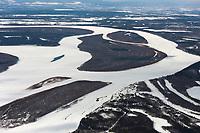 Athabascan native village of Stevens, Alaska, located along the Yukon River in Interior, Alaska.