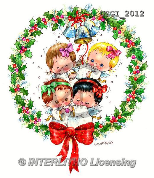 GIORDANO, CHRISTMAS CHILDREN, WEIHNACHTEN KINDER, NAVIDAD NIÑOS, paintings+++++,USGI2012,#XK#