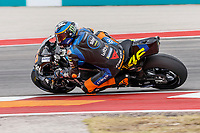 2nd October 2021; Austin, Texas, USA;  Luca Marini (10) - (ITA) riding a Ducati for the SKY VR46 Avintia Team during Free Practise 3 at the MotoGP Red Bull Grand Prix of the Americas held October 2, 2021 at the Circuit of the Americas in Austin, TX.