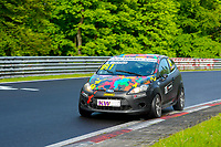 Race of Germany Nürburgring Nordschleife 2016 Free training 2 ETCC 2016 #181 RAVENOL Motorsport Ford Fiesta Niklas Mackschin (DEU) © 2016 Musson/PSP. All Rights Reserved.