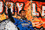 Nov 07, 2009; 10:17:57 PM; Concord, NC, USA; The third-annual World of Outlaws World Finals racing at The Dirt Track @ Lowe's Motor Speedway.  Mandatory Credit: (thesportswire.net)