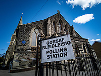 2021 05 06 Local Elections, St Thomas, Swansea, Wales, UK