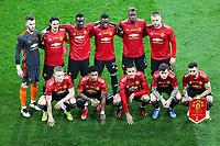 Manchester United line up <br /> Gdansk 26/05/2021<br /> Europa League Final <br /> Villarreal Vs Manchester United<br /> Photo LUKASZ GROCHALA/CYFRASPORT / NEWSPIX.PL Imago/Insidefoto
