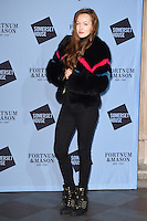 Olivia Grant<br /> at the launch of the Skate at Somerset House ice rink, London.<br /> <br /> ©Ash Knotek  D3199  16/11/2016