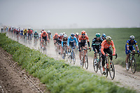 Greg Van Avermaet (BEL/CCC)<br /> <br /> 117th Paris-Roubaix 2019 (1.UWT)<br /> One day race from Compiègne to Roubaix (FRA/257km)<br /> <br /> ©kramon