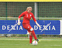 UEFA Women's Under 17 Championship - Second Qualifying round - group 1 : England - Iceland : .Jessica Myers.foto DAVID CATRY / Vrouwenteam.be
