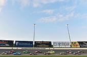 #18: Kyle Busch, Joe Gibbs Racing, Toyota Camry M&M's Caramel and #11: Denny Hamlin, Joe Gibbs Racing, Toyota Camry FedEx Freight
