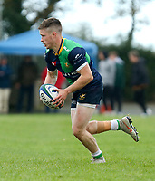 Saturday 10th October 2020 | Ballynahinch vs Queens<br /> <br /> Chris Gibson during the Energia Community Series clash between Ballynahinch and Queens at Ballymacarn Park, Ballynahinch, County Down, Northern Ireland. Photo by John Dickson / Dicksondigital