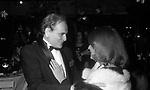 PIERRE CARDIN  CON JEANNE  MOREAU - PREMIO THE BEST  ROCKFELLER CENTER NEW YORK 1982