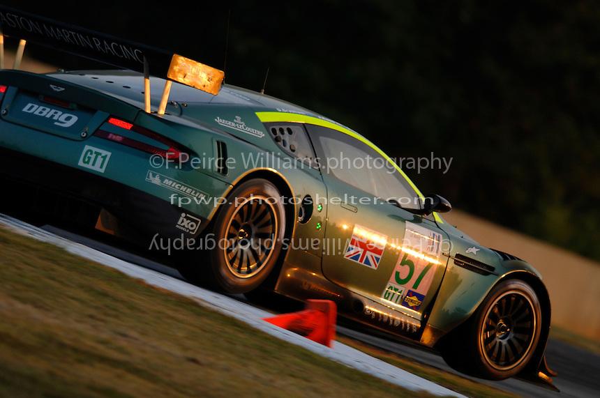 The #57 Aston Martin...Copyright©F.Peirce Williams 2005.ref.Digital Image Only