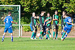 ALSBACH, GERMANY - SEPTEMBER 30: Verbandsliga match between FC Alsbach and KSV Klein-Karben at FC Alsbach sports ground on September 30, 2012 in Alsbach, Germany. (Photo by Dirk Markgraf)
