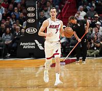 Goran Dragic (G Miami Heat, #7) - 22.01.2020: Miami Heat vs. Washington Wizards, American Airlines Arena
