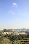 Israel, Jerusalem, Har Homa neighborhood, Beit Sahour and Herodion are in the background