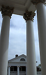 University of Virginia with pillars UVA Thomas Jefferson University Charlottesville Virginia, Fine Art Photography by Ron Bennett, Fine Art, Fine Art photography, Art Photography, Copyright RonBennettPhotography.com ©