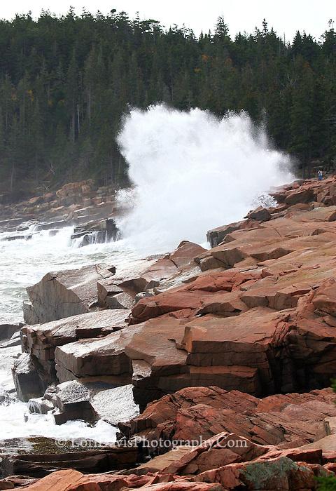 Storm Waves Crash Along Ocean Drive  #A51