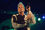 John Lydon and Public Image Limited playing at the Coal Exchange in Cardiff Bay tonight..Editorial use only - Exclusive to Rex - not sent anywhere.