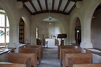 Ernest Barnsley's son-in-law, Norman Jewson, also an architect and part of the Cotswold Group, supervised the completion of the chapel at Rodmarton when Barnsley died in 1925