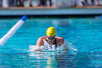 Santa Clara, California - Sunday June 5, 2016:  Caitlin Leverenz races in the Women's 200 LC Meter IM at the Arena Pro Swim Series at Santa Clara morning session. Leverenz took the top time of the morning with a 2:13.88.