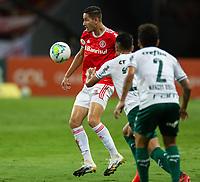 19th December 2020; Beira-Rio Stadium, Porto Alegre, Brazil; Brazilian Serie A, Internacional versus Palmeiras; Bruno Praxedes of Internacional controls the loose ball