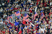 WASHINGTON, D.C. - OCTOBER 11: Supporters of the United States during their Nations League game versus Cuba at Audi Field, on October 11, 2019 in Washington D.C.