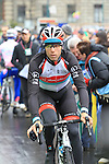 Danilo Hondo (GER) Radioshack Leopard at the sign on before the start of the 104th edition of the Milan-San Remo cycle race at Castello Sforzesco in Milan, 17th March 2013 (Photo by Eoin Clarke 2013)