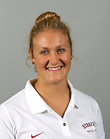Ashley Grossman a member of Stanford women's water polo team. Photo taken Tuesday, September 25, 2012. ( Norbert von der Groeben )