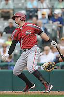 Altoona Curve infielder Stetson Allie (39) during game against the Trenton Thunder at ARM & HAMMER Park on August 6, 2014 in Trenton, NJ.  Trenton defeated Altoona 7-3.  (Tomasso DeRosa/Four Seam Images)