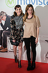 """Sisters Natalia and Celia de Molina attends to the premire of the film """"Que fue de Jorge Sanz"""" at Cinesa Proyecciones in Madrid. February 10, 2016."""