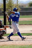 Cory Aldridge - Kansas City Royals - 2009 spring training.Photo by:  Bill Mitchell/Four Seam Images
