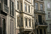 Historical buildings in Cukurcuma, Beyoglu, Istanbul, Turkey