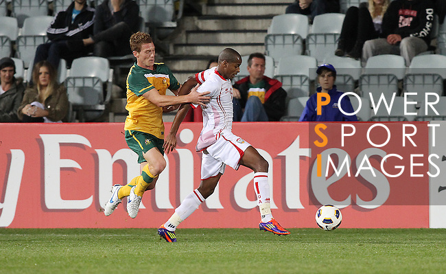 Australia vs UAE during the Olympic Qualifying 2012 Group B stage match on September 21, 2011 at the Hindmarsh Stadium in Adelaide, Australia. Photo by World Sport Group