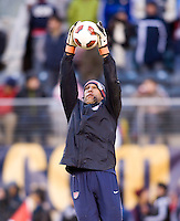 Tim Howard. The USMNT tied Argentina, 1-1, at the New Meadowlands Stadium in East Rutherford, NJ.