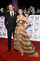 Wayne and Frankie Bridge<br /> arriving for the Pride of Britain Awards 2018 at the Grosvenor House Hotel, London<br /> <br /> ©Ash Knotek  D3456  29/10/2018