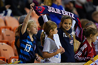 HOUSTON, TX - JANUARY 31: Young Fans of the United States during a game between Panama and USWNT at BBVA Stadium on January 31, 2020 in Houston, Texas.